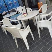 創意遊中華 塑膠休閒桌椅組 9尺陽傘組 出租運送(12)