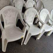 創趣DIY開幕活動 戶外庭園休閒白色塑膠椅 出租運送 (1)