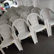 創趣DIY開幕活動 戶外庭園休閒白色塑膠椅 出租運送