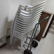 城心社區活動 休閒塑膠桌椅 出租運送 (2)