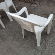 塑膠靠背椅 烤肉椅 出租運送 (3)