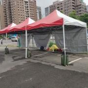 宗教聯盟黨 敬天祈福大法會 服務台3米快速帳 出租搭設 (1)