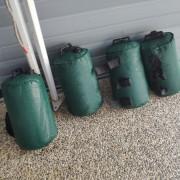 家庭烤肉活動 器材壓重水袋出租