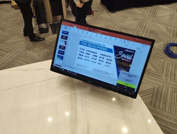 愛身健麗公司簡報 字幕用32吋液晶電視出租 (1)