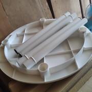戶外休閒塑膠圓桌 出租運送 (2)