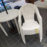 旅讀中國活動 塑膠圓桌 塑膠靠背椅 出租運送 (13)
