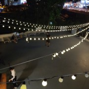 樂尼尼義式餐廳 求婚活動 LED裝飾串燈 出租搭設 (2)