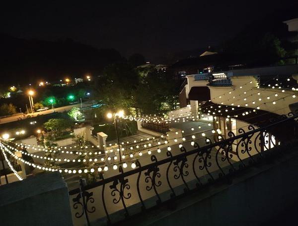 樂尼尼義式餐廳 求婚活動 LED裝飾串燈 出租搭設 (3)