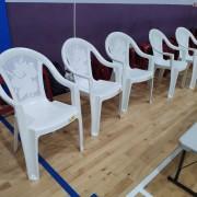 瑪麗亞社會福利基金會 南屯運動中心活動 休閒塑膠椅 出租運送 (2)