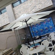 創意遊中華 塑膠休閒桌椅組 9尺陽傘組 出租運送(13)