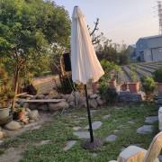 庭園自助餐式婚宴 白色洋傘 出租運送 (2)