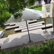 感覺實驗室 綠川小市集 夏日戶外活動遮陽 休閒陽傘組 出租運送