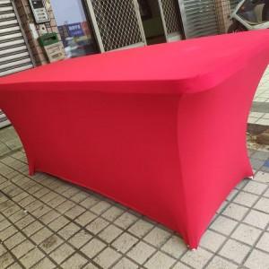 紅色彈力桌套出租 (4)