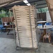 印地安露營區 白色摺疊椅 出租運送
