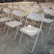 喬伊音樂工作室 婚宴活動 白色摺疊椅 出租運送