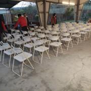 喬伊音樂工作室 婚宴活動 白色摺疊椅 出租運送 (2)