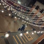 中興大學 禮堂廣場求婚活動 婚禮場地佈置串燈 出租搭設 (10)