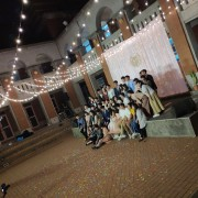 中興大學 禮堂空地求婚活動 婚禮場地佈置串燈 出租搭設 (18)