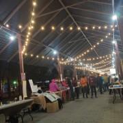 安平愛鄰協會 聖誕市集活動 Bright Light 攤位區 LED裝飾串燈 出租搭設 (10)
