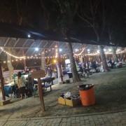 安平愛鄰協會 聖誕草地音樂會 Bright Light 攤位區 LED裝飾串燈 出租搭設 (11)