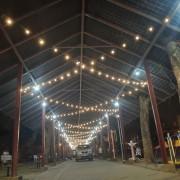 安平愛鄰協會 聖誕草地音樂會 Bright Light 攤位區 LED裝飾串燈 出租搭設 (9)
