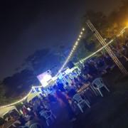 安平愛鄰協會 聖誕草地音樂會 Bright Light 草地野餐區 LED裝飾串燈 出租搭設 (13)
