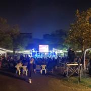 安平愛鄰協會 聖誕草地音樂會 Bright Light 草地野餐區 LED裝飾串燈 出租搭設 (14)