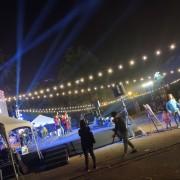安平愛鄰協會 聖誕草地音樂會 Bright Light 草地野餐區 LED裝飾串燈 出租搭設 (15)