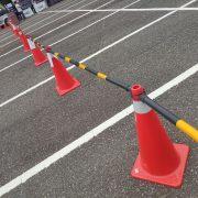 西湖渡假村 重機車友聚會活動 停車場規劃用交通錐出租運送 (11)