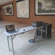 鉅眾公司會議簡報活動 投影機 truss投影架 音響設備 出租搭設 (2)