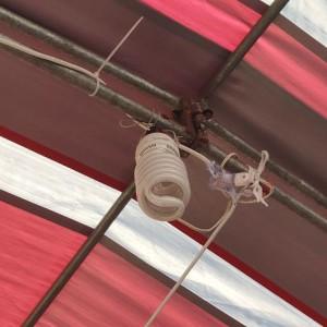 宗教聯盟 敬天祈福法會 帳篷專用吊燈 搭設出租