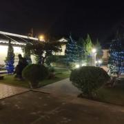霧峰林家 頤圃園區 古蹟推廣活動 串燈 聖誕燈 小彩燈 網燈 出租搭設 (5)