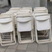 育賢社宅 共好生活節 折疊椅 標準舞台 鼠灰色地毯 摺疊桌 出租運送 (9)