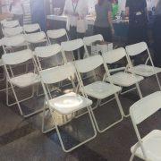 2020創意台中 火車站展覽活動 白色摺疊椅 出租運送 (12)