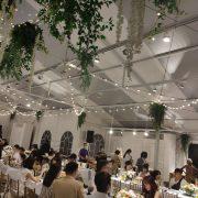 淡水嘉盧 Buffet 證婚儀式晚宴 串燈 出租施工 (12)