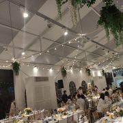 淡水嘉盧 Buffet 證婚儀式晚宴 串燈 出租施工 (13)