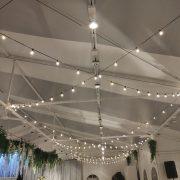 淡水嘉盧 Buffet 證婚儀式晚宴 串燈 出租施工 (14)