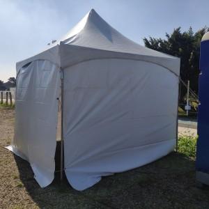 花博活動 休息用3米帳 & 帳篷圍布 出租搭設 (1)