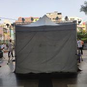 颶風舞蹈成果發表會 表演人員 休息帳篷 & 帳棚圍布 出租搭設 (7)
