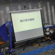 O3汽車美容-河南旗艦店漆面透明保護膜店 促銷體驗活動 投影布幕 出租搭設 (1)