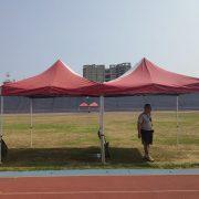 豐原體育場 飛盤協會活動 桌椅帳篷 出租搭設 (5)