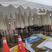 田中馬拉松 周邊市集攤位用 休閒傘 傘座 出租運送 (2)