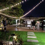 嘉廬戶外泳池 婚宴活動場地佈置 Truss 串燈 出租搭設 (1)
