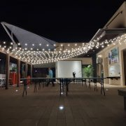 AGIT艾鉅衝浪板公司 中秋活動 3樓泳池餐區 串燈出租佈置施工 (45)