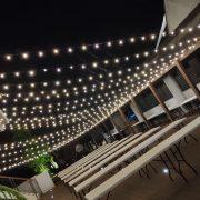 AGIT艾鉅衝浪板公司 中秋活動 3樓泳池餐區 串燈出租佈置施工 (54)