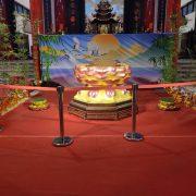 龍華靜修院 觀音菩薩出家紀念日 神尊保護用 紅龍柱出租運送 (4)