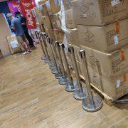 PONY 購物網站 促銷活動排隊線 紅龍伸縮圍欄 出租運送 (4)