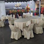 十全賽車 開幕餐會 宮廷帳 休閒圓桌 桌套 貴賓椅 摺疊桌 出租搭設 (6)
