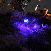 柳川水都河岸藝術造景活動 七彩投射燈 出租 (6)
