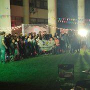 斯里蘭卡新年慶典餐會 主題背板Truss 串燈 燈光音響 爵士鼓 樂器音箱 3米帳 紅龍圍欄 紅地毯 出租運送 (5)